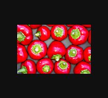 Red Chilly Peppers Hot Pattern Unisex T-Shirt