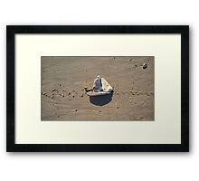 Sailing By! Framed Print