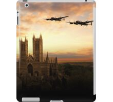 Lancs over Lincoln  iPad Case/Skin