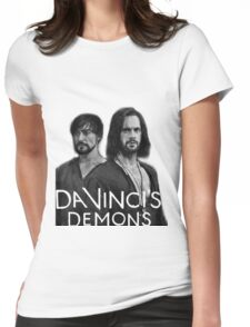 Da vinci's demons (riario and leonardo) Womens Fitted T-Shirt