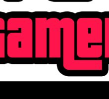Supreme Gamer (Red-Pink) Sticker