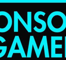 Console Gamer (Blue) Sticker