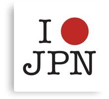 I heart Japan! Canvas Print