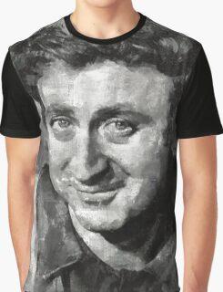 Gene Wilder Hollywood Actor Graphic T-Shirt