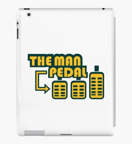 The Man Pedal (5) iPad Case/Skin