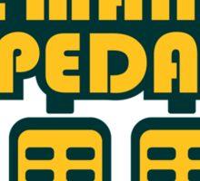 The Man Pedal (5) Sticker