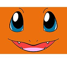 Charmander Face - Fire Pokemon Photographic Print