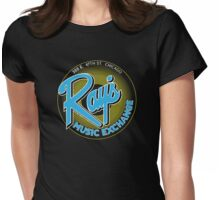 Ray's Music Exchange - Blue Variant Womens Fitted T-Shirt