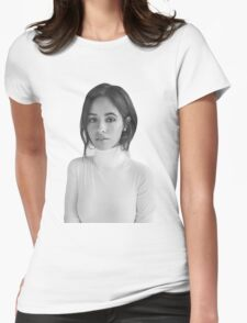 Camila Cabello Fifth Harmony Teen Vogue Womens Fitted T-Shirt