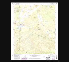 USGS TOPO Map Arizona AZ McNary 312298 1977 24000 Unisex T-Shirt
