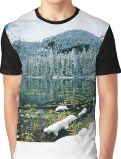 Early Snow at Nymph Lake Graphic T-Shirt