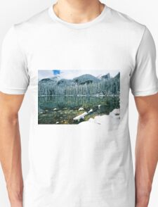 Early Snow at Nymph Lake Unisex T-Shirt