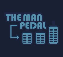 The Man Pedal (7) Kids Tee