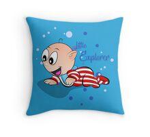 Baby Ollie Little Explorer Throw Pillow