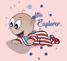 Baby Ollie Little Explorer Kids Tee