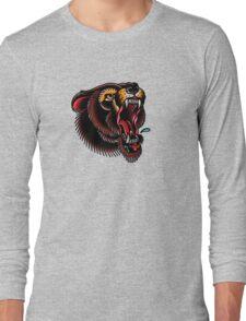 Traditional Mighty Bear Long Sleeve T-Shirt