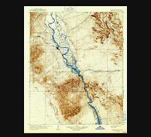 USGS TOPO Map Arizona AZ Needles 315376 1904 125000 Unisex T-Shirt