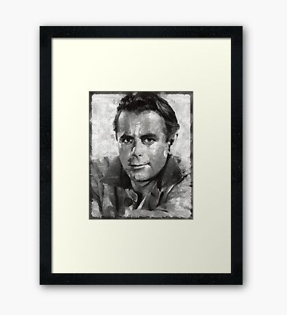 Glenn Ford Hollywood Actor Framed Print