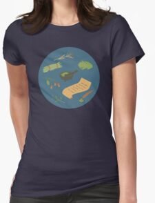Herbology Class Womens Fitted T-Shirt