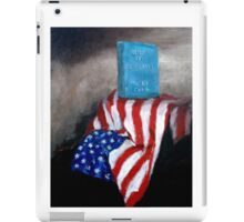 Lest We Forget iPad Case/Skin