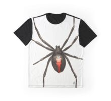 Latrodectus mactans (southern black widow) Graphic T-Shirt