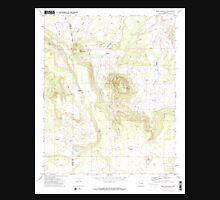 USGS TOPO Map Arizona AZ Mesa Redonda 312325 1971 24000 Unisex T-Shirt