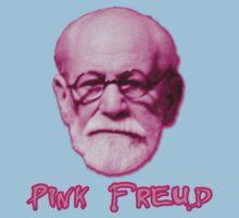 Pink Freud Head One Piece - Short Sleeve