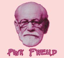 Pink Freud Head Kids Tee