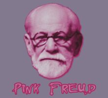 Pink Freud Head Kids Tee