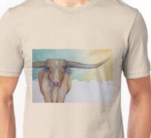 """LONESTAR LONGHORN"" at Dawn Unisex T-Shirt"