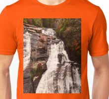 High Falls Dupont State Forest Waterfall Unisex T-Shirt