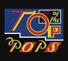 Top of the Pops - 1986-1988 Baby Tee