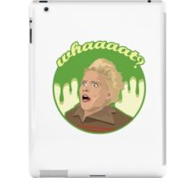 Ghostbusters Say What (White) iPad Case/Skin