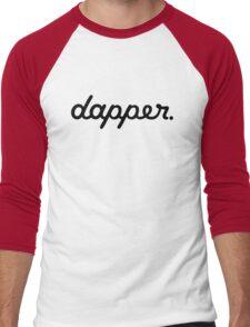 dapper (3) Men's Baseball ¾ T-Shirt