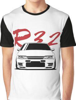 Skyline R32 GTR Graphic T-Shirt