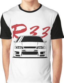 Skyline R33 GTR Graphic T-Shirt
