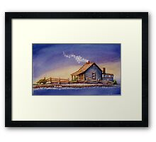 """IN FOR THE NIGHT"" Framed Print"