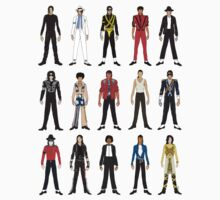 Outfits of King Jackson Pop Music Fashion One Piece - Long Sleeve