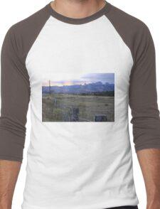 The Fields, the Sky Men's Baseball ¾ T-Shirt
