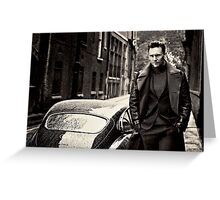 Tom Hiddleston Greeting Card