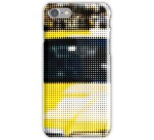"Pixels Print ""YELLOW TAXI"" iPhone Case/Skin"