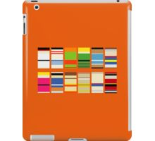 sf characters iPad Case/Skin