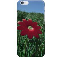Landscape flower iPhone Case/Skin