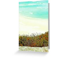 Curve of the Beach - Gleesons Landing Greeting Card