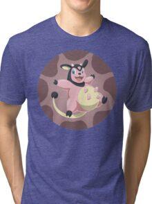 Miltank badge Tri-blend T-Shirt