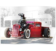1932 Ford 'Radical Rat' Pickup Poster