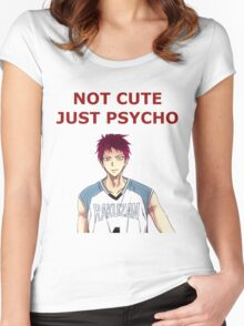 psycho, baby Women's Fitted Scoop T-Shirt