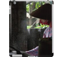 The rice paper maker iPad Case/Skin
