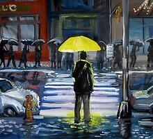 Yellow umbrella part 1 by Redilion