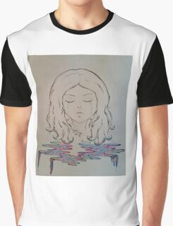 Sunset Tears Graphic T-Shirt